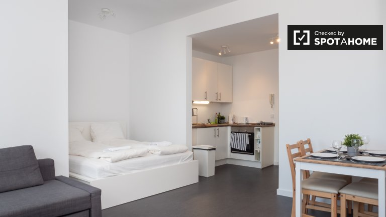 Modern studio apartment for rent in Kreuzberg, Berlin