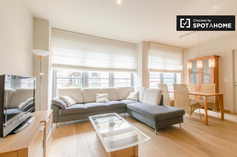 Beautiful, modern 1-bedroom apartment for rent in Ixelles