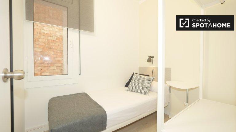 Gràcia, Barcelona'da kiralık güneşli oda