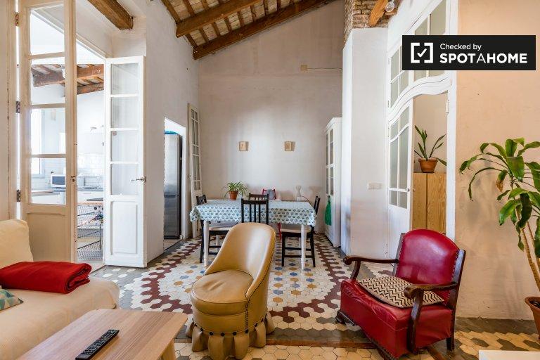 Elegante appartamento con 2 camere da letto in affitto a L'Eixample, Valencia
