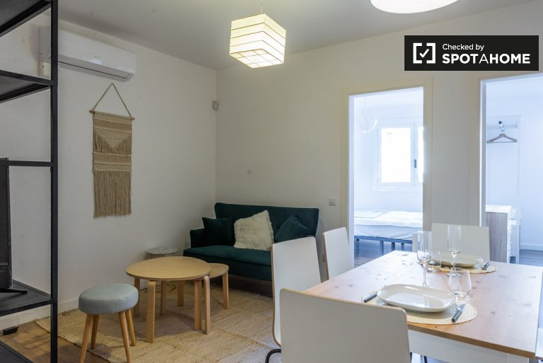Stylish 2-bedroom apartment for rent in L'Hospitalet