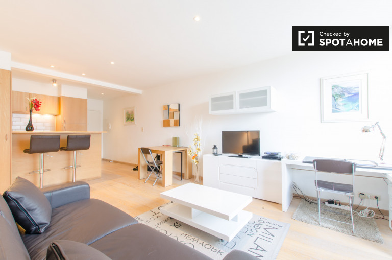 Moderne Studio-Wohnung zur Miete in Uccle, Brüssel