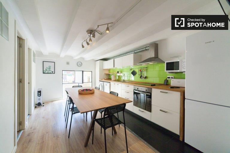 Appartement de 2 chambres à coucher El Raval, Barcelone