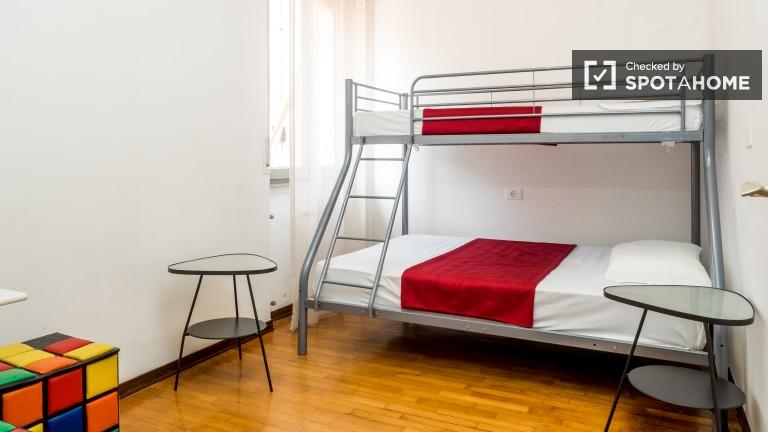 Camera da letto 2 con letti a castello e riscaldamento