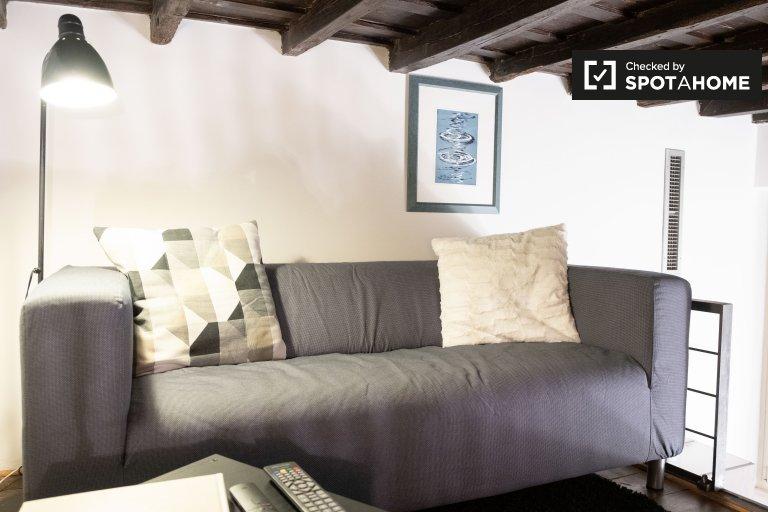 Doce apartamento com 1 quarto para alugar em Centro Storico