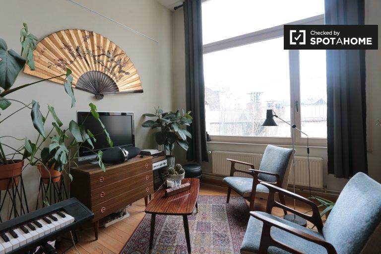 Apartamento de 1 dormitorio en alquiler en Saint Josse, Bruselas