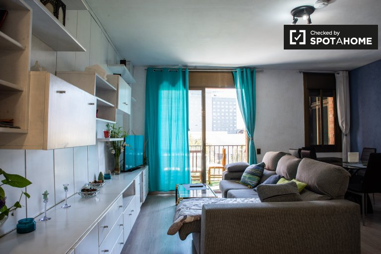Room for rent, 2-bedroom apartment, Poblenou, Barcelona