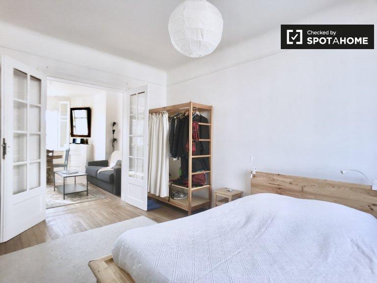 Soleado apartamento de 1 dormitorio en alquiler en Montrouge, París