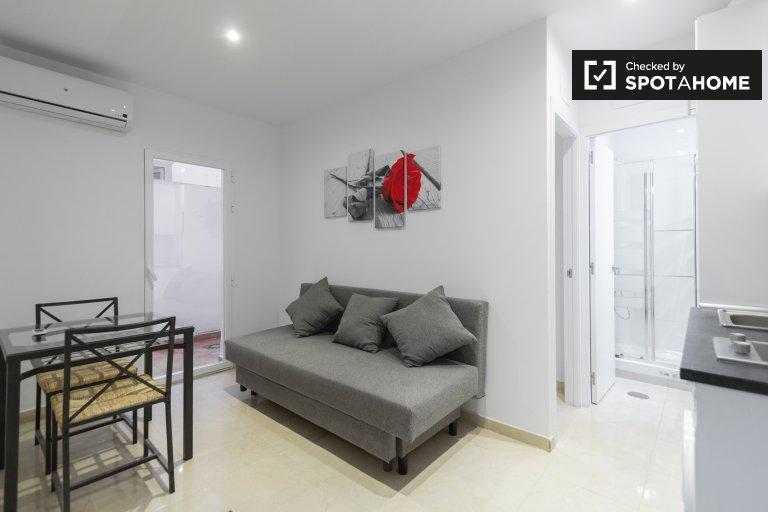 Wyremontowany apartament z jedną sypialnią do wynajęcia w Usera w Madrycie