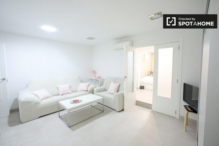 Apartamento de 1 quarto para alugar em Ciutat Vella, Valência