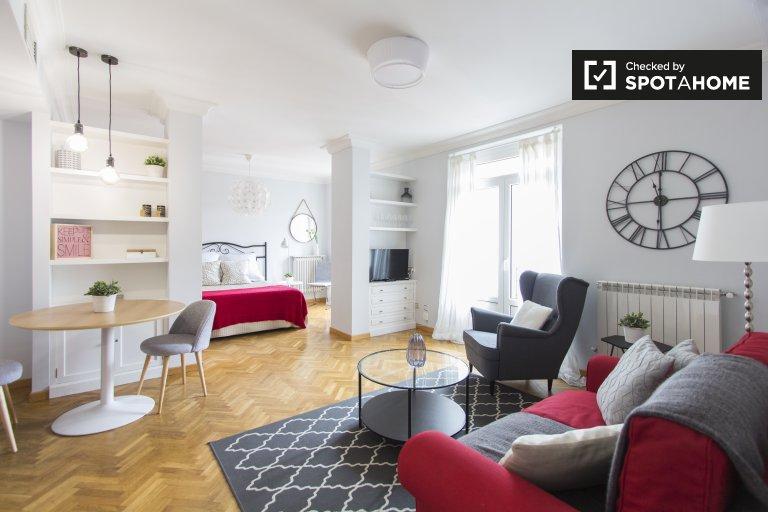 Fashionable studio apartment for rent in La Latina, Madrid