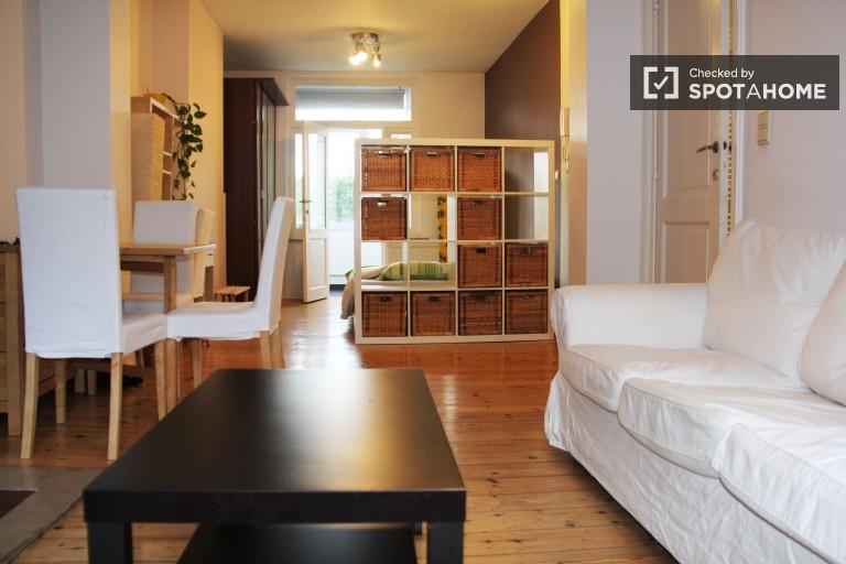 Haustierfreundliche Studio-Wohnung zur Miete in Ixelles, Brüssel
