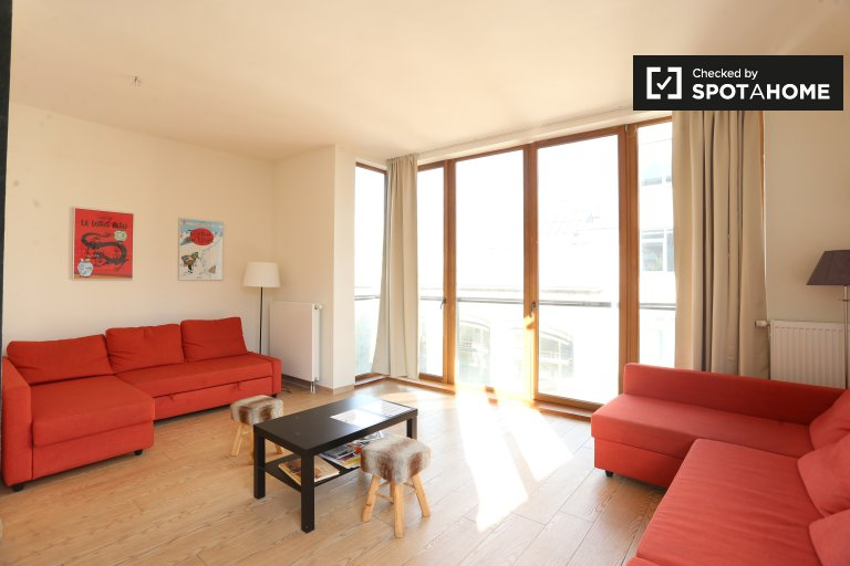 Rent a charming 2-bedroom apartment, City Center, Brussels