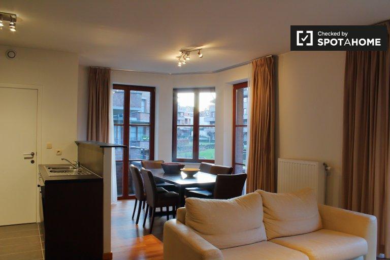 Appartamento con 2 camere da letto in affitto ad Auderghem