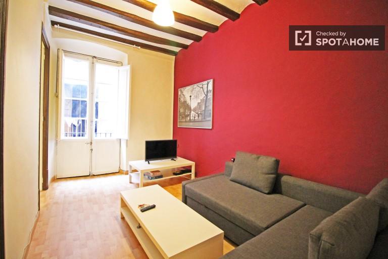 alquiler estudio 1 habitacion barcelona