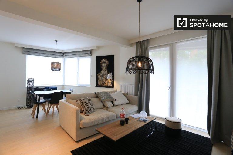 Elegante 1-Zimmer-Wohnung zur Miete in Schaerbeek, Brüssel