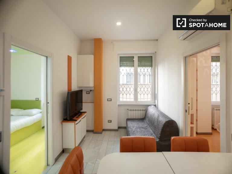 Zesty 2-pokojowe mieszkanie do wynajęcia w Niguarda, Mediolan