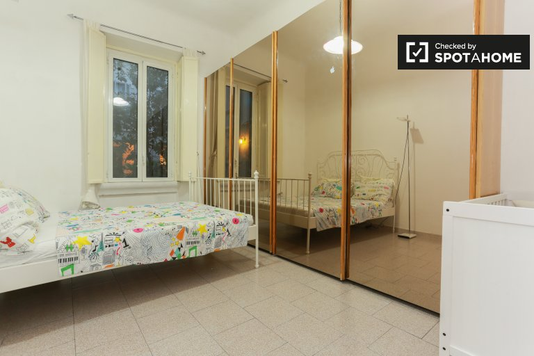 Chambre meublée dans un appartement de 2 chambres à Città Studi, Milan
