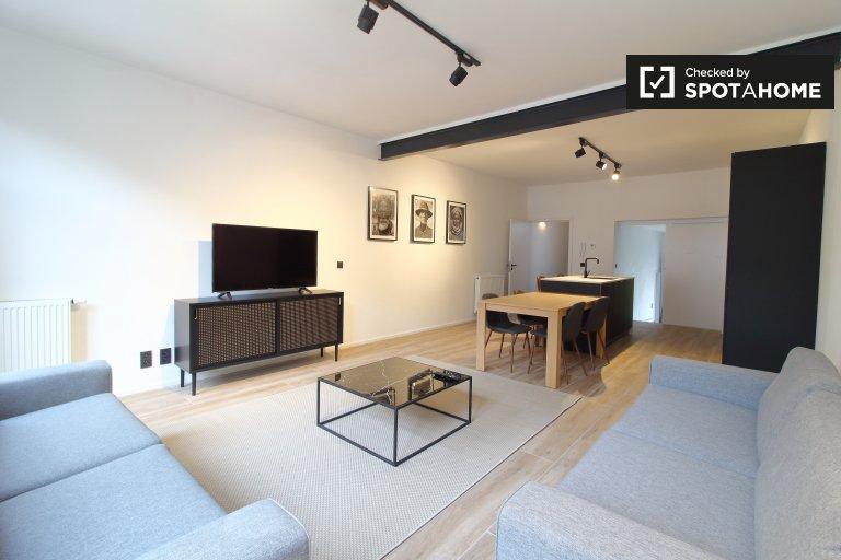 Appartement moderne de 3 chambres à louer à Etterbeek, Bruxelles