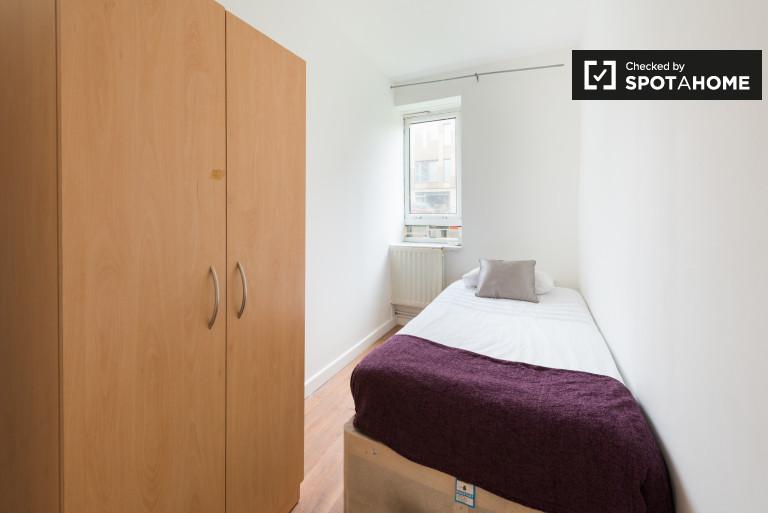 Chambre spacieuse dans un appartement partagé à Whitechapel, Londres