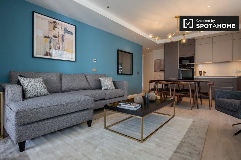 Serviced 2-Zimmer-Wohnung zu vermieten in Grand Canal Dock