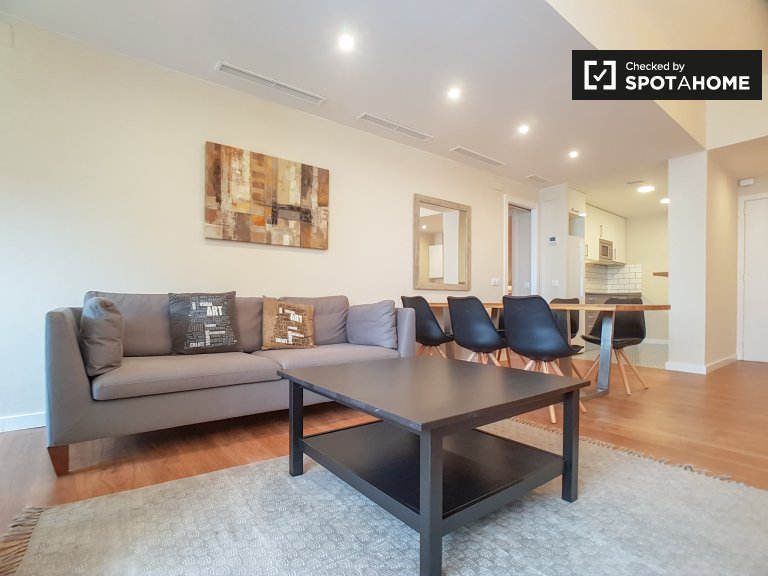 Elegant 2-bedroom apartment for rent in Les Corts, Barcelona
