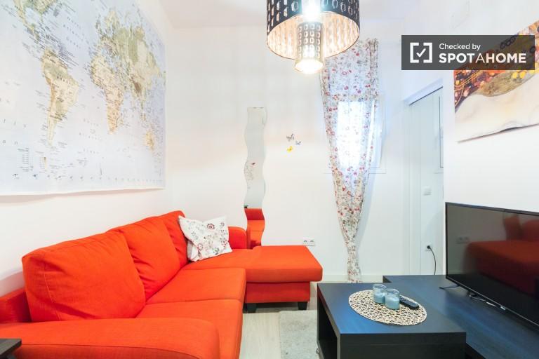 2-Zimmer-Wohnung in der Nähe von Retiro zur Miete in Lavapiés, Madrid