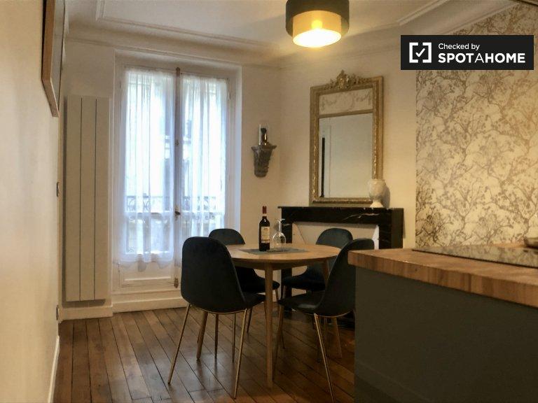 Appartement 1 chambre à louer 18ème arrondissement, Paris