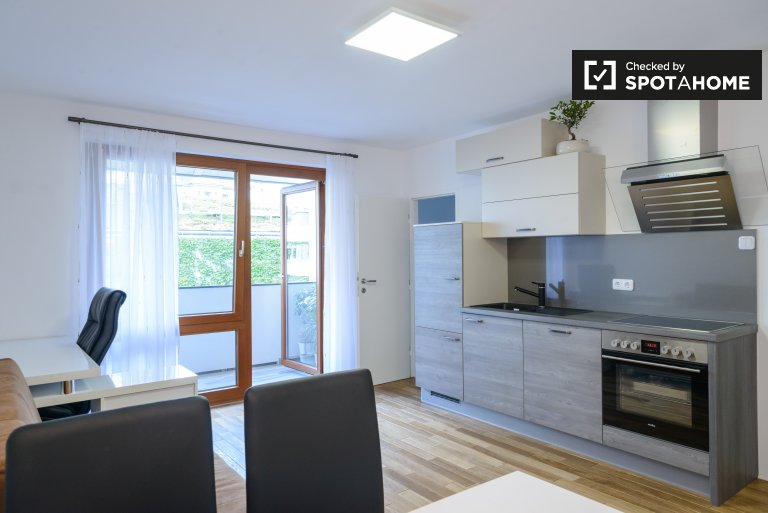 Terrific 1-bedroom apartment for rent by the Danube in Brigittenau