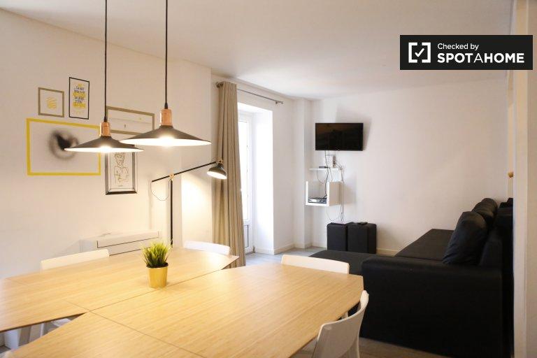 Nowoczesne 4-pokojowe mieszkanie do wynajęcia w Bairro Alto, Lisboa