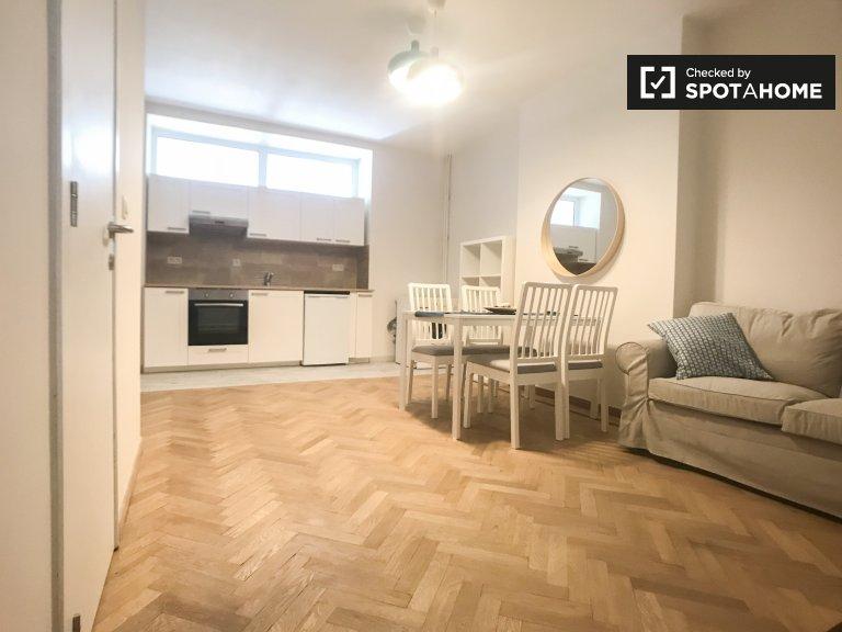 Geräumige 1-Zimmer-Wohnung zur Miete in Etterbeek, Brüssel