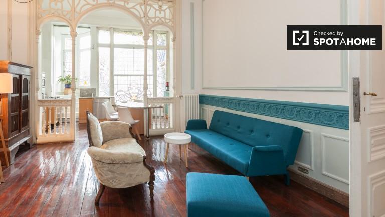 1-pokojowe mieszkanie do wynajęcia w pobliżu EP w Ixelles w Brukseli