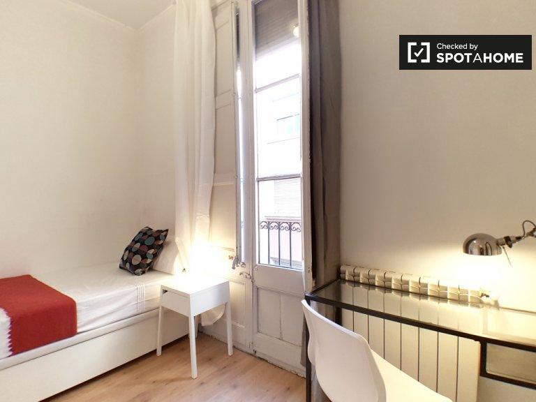 Schönes Zimmer zur Miete in Gràcia, Barcelona