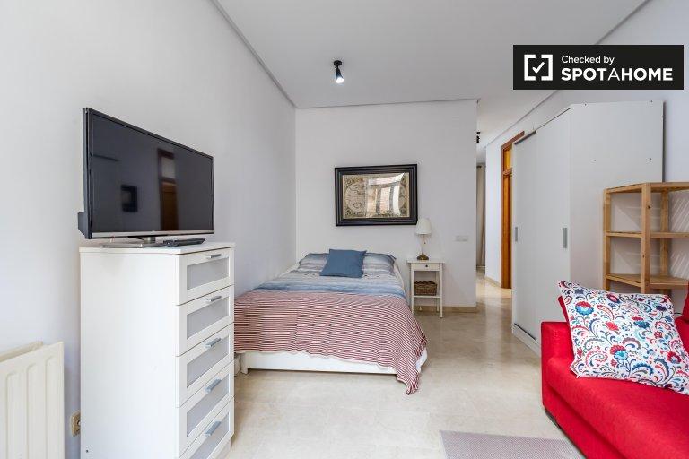 Grazioso monolocale in affitto a Ciutat Vella, Valencia