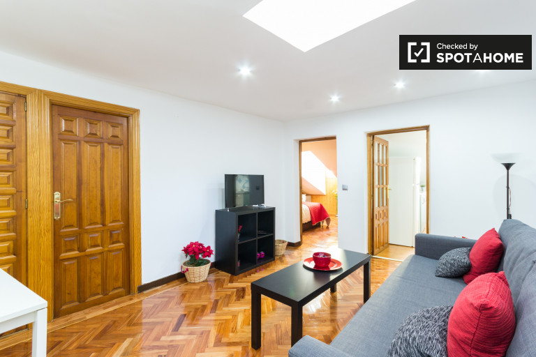 1-bedroom apartment with AC for rent in Malasaña, Madrid