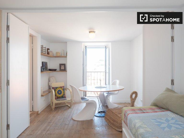 Ruhige 1-Zimmer-Wohnung zur Miete in Carmo, Lissabon