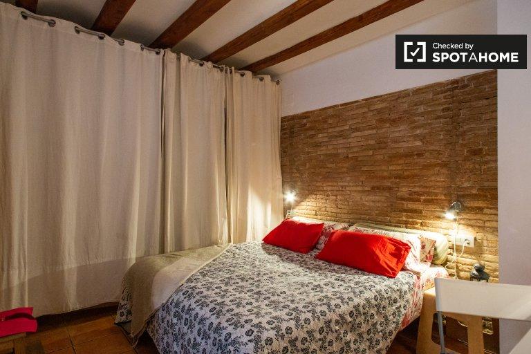 Przytulny apartament typu studio do wynajęcia w Barceloneta, Barcelona