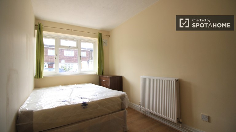 Bedroom 1 with Double Bed and Couple-Friendly