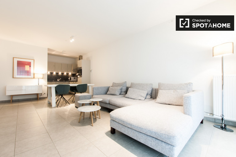 Cozy 1-bedroom apartment for rent in Evere, Brussels