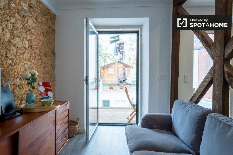 Appartamento con 2 camere da letto in affitto a Santo António, Lisbona