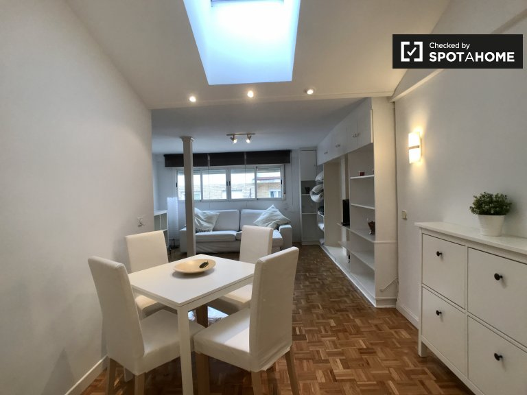 apartamento de 1 dormitorio en alquiler en Chamartín, Madrid