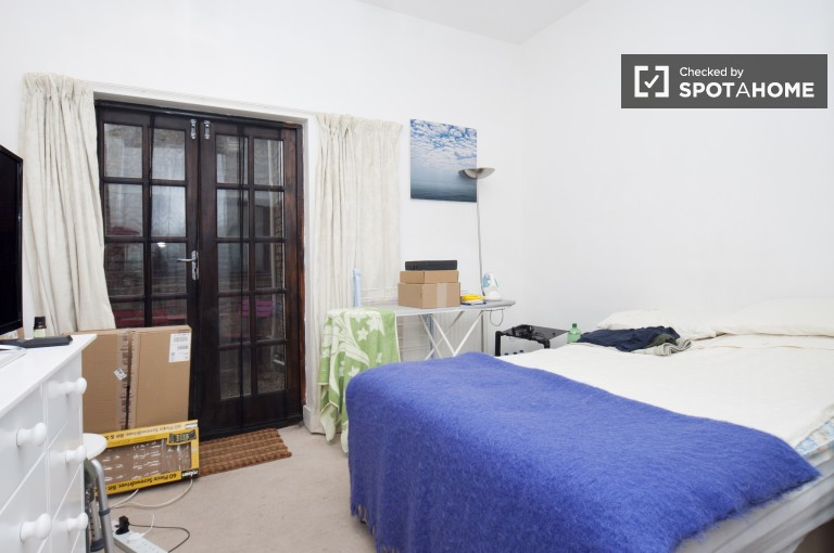 Bedroom 1 - Double Bed, Private Patio