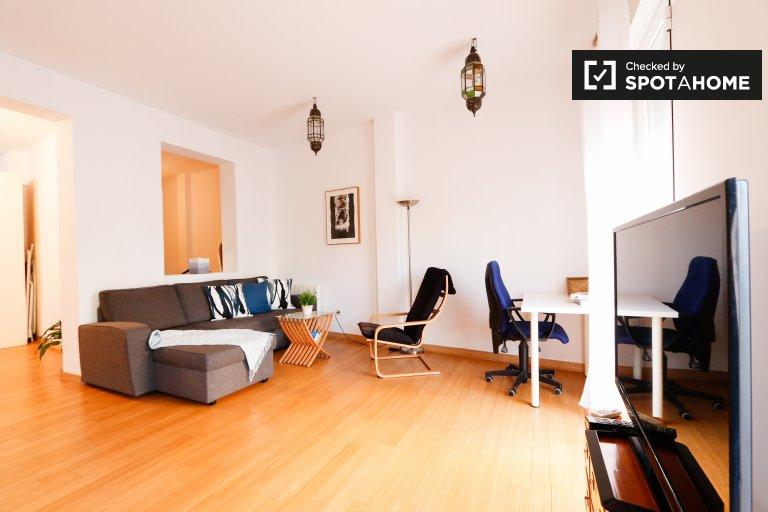 Stilvolle 1-Zimmer-Wohnung zur Miete in Acacias, Madrid