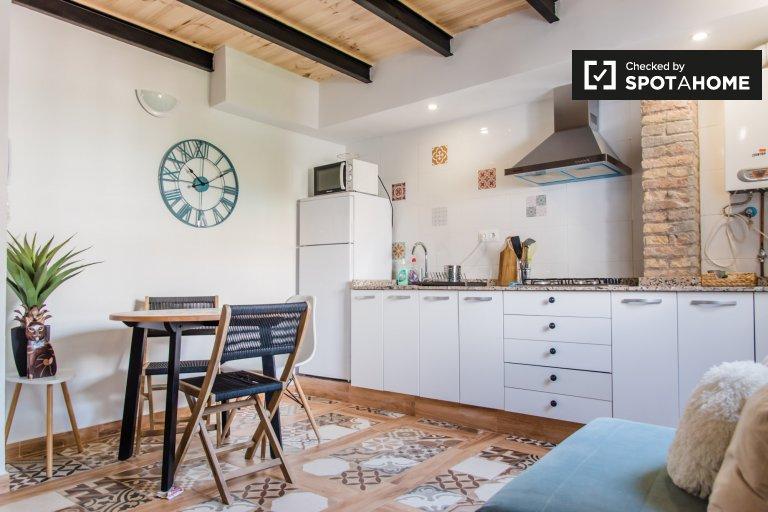 Appartement duplex 1 chambre à Poblats Marítims, Valence