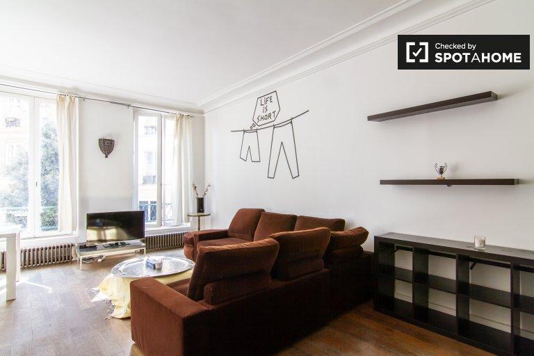 2-pokojowe mieszkanie do wynajęcia w 2. dzielnicy Paryża