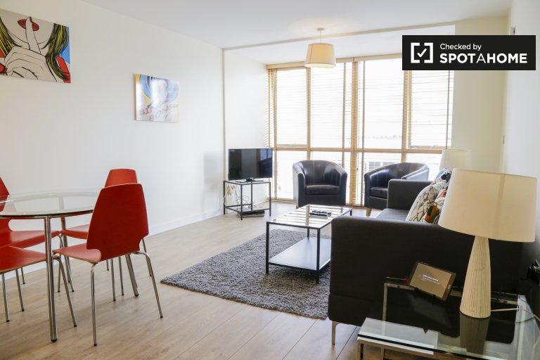Niesamowite mieszkanie z 1 sypialnią do wynajęcia w Ballsbridge w Dublinie