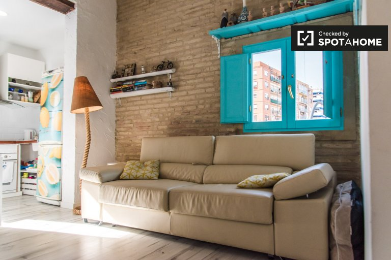 Studio à louer à Beteró, Valence