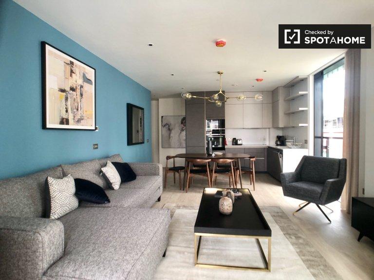 Serviced 2-Zimmer-Wohnung im Grand Canal Dock zu mieten