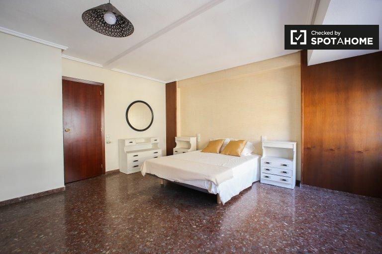 Przestronny pokój do wynajęcia w Extramurs, Valencia