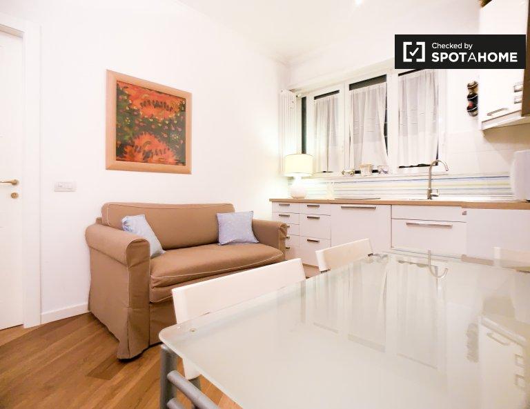 Appartement 1 chambre confortable à louer à Trieste, Rome